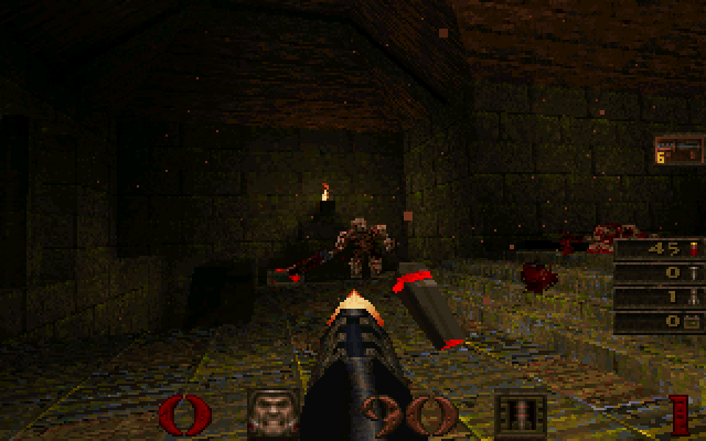 Quake [Falcon030] atari screenshot